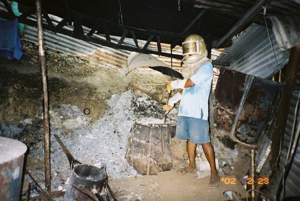 アルミ再生炉